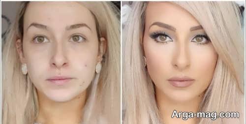 آرایش صورت برای عروس