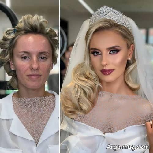 مدل میکاپ شیک برای عروس