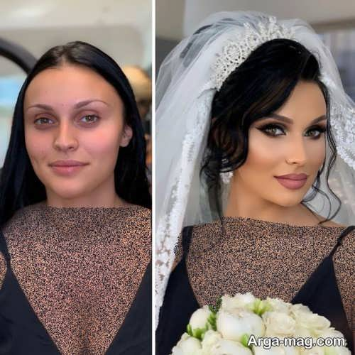 میکاپ عروس شیک و زیبا