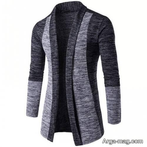 سویشرت دو رنگ مردانه
