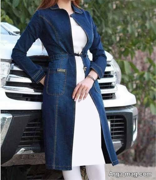 مدل مانتوی لی جلوباز