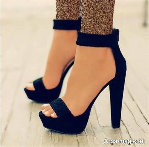 مدل کفش پاشنه دار