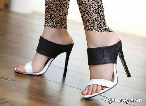 کفش دو رنگ مجلسی