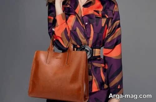 کیف زنانه چرم شیک
