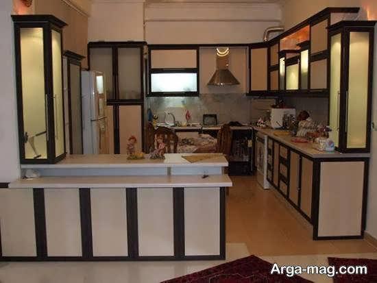 مجموعه مدل های شیک و زیبای آشپزخانه ایرانی