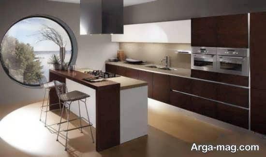 انواع الگوهای طراحی آشپزخانه ایرانی زیبا و شیک