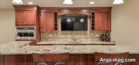 انواع مدل مدرن و جذاب آشپزخانه آریایی