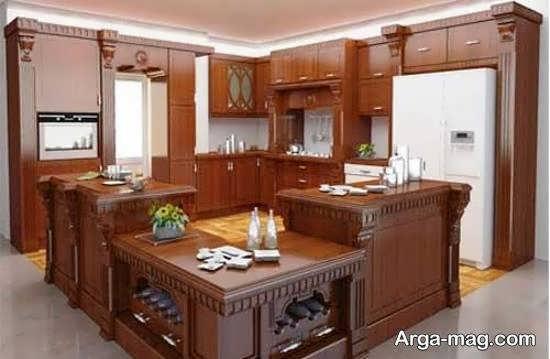الگوهای بینظیر و فوق العاده آشپزخانه ایرانی