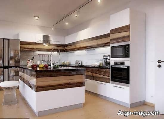 گالری زیبا و ایده آل مدل آشپزخانه ایرانی
