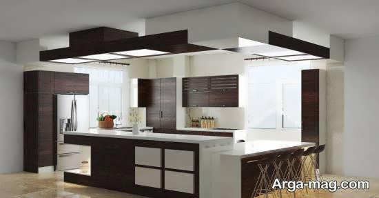 انواع مدل آشپزخانه آریایی برای بانوان با سلیقه و کدبانو