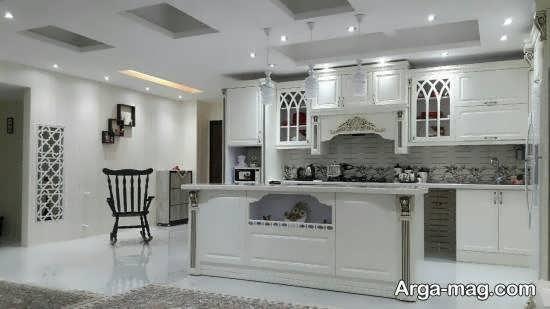 نمونه های متفاوت و خاص دکوراسیون آشپزخانه ایرانی