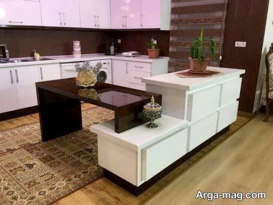 گالری مدل آشپزخانه ایرانی با زیبایی و جذابیت بالا برای بانوان آریایی