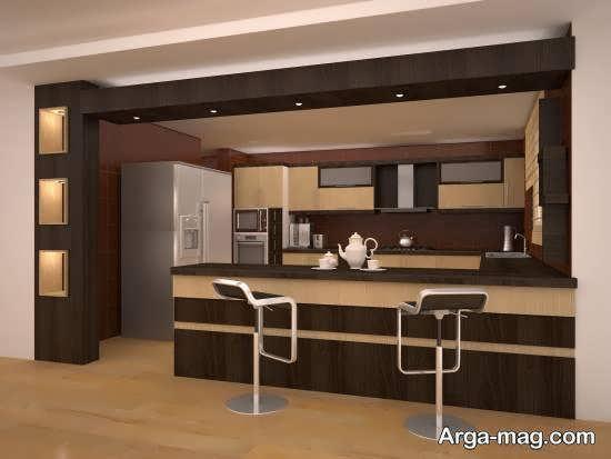 انواع مدل آشپزخانه ایرانی زیبا و شیک