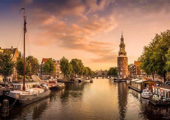 کشور هلند کشور گل و آسیابهای بادی که به آن معروف است