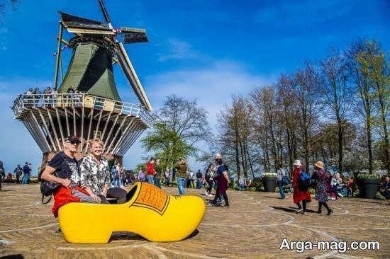 هلند سرزمینی که 70 درصد آن را آب تشکیل می دهد
