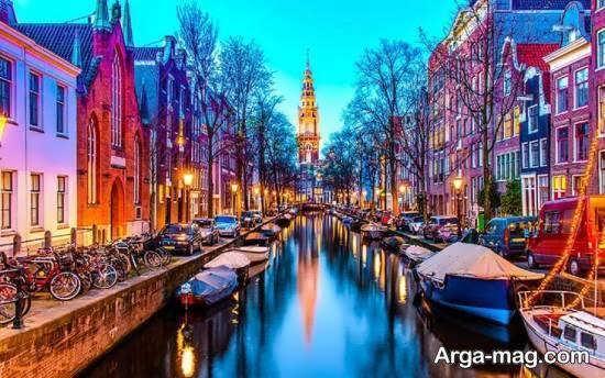 هلند منطقه ای با منابع طبیعی از جمله گاز و نفت