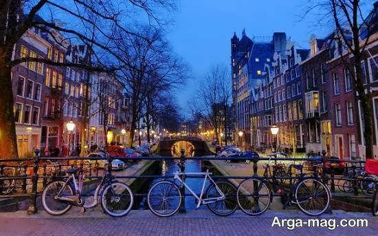 کشور هلند از کشورهای اروپایی که در تجارت نیز موفق است
