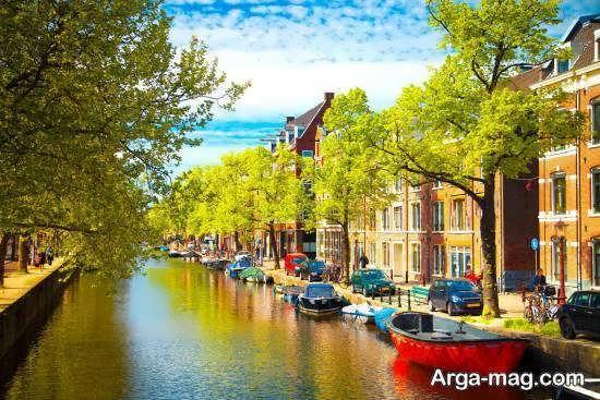 اقلیم هلند دارای مردمانی با فرهنگ و اخلاق خوب و مهمان نواز