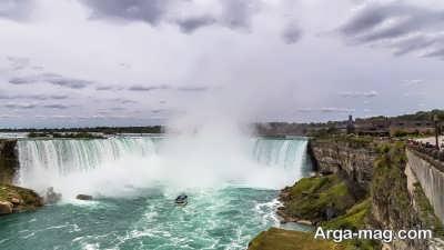 عظمت آبشار نیاگارا