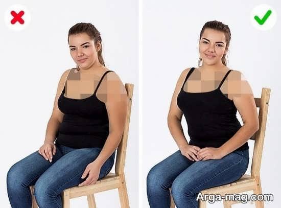 آشنایی با ژست عکس برای افراد چاق
