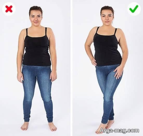 مناسب ترین ژست عکس برای افراد چاق