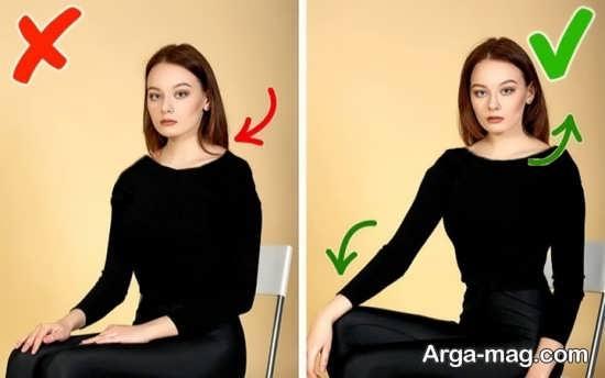 حالت خاص عکس متفاوت و زیبا برای افراد چاق