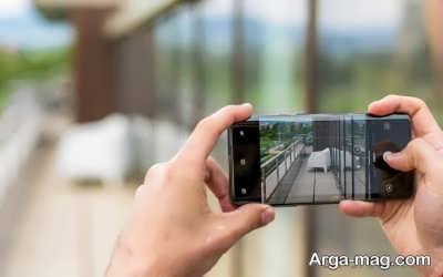 نحوه گرفتن عکس با گوشی موبایل
