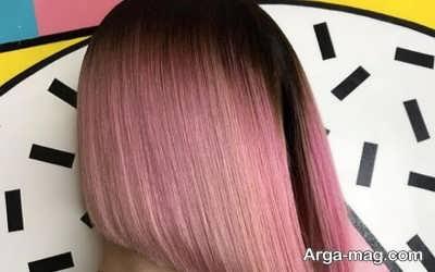 رنگ موی دخترانه صورتی