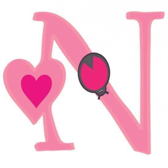 عکس پروفایل حرف n با طرح زیبا