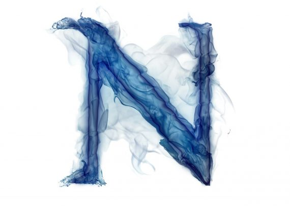 بیوگرافی حرف n با طرحی زیبا