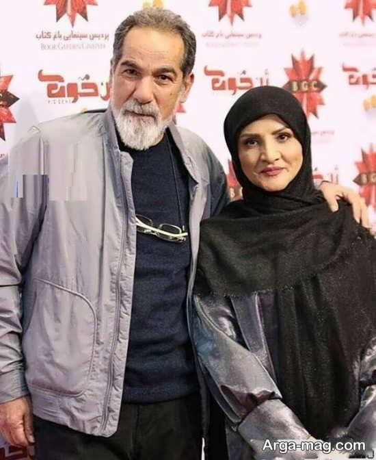 تصویر زیبا از پدر و مادر سینا مهرداد