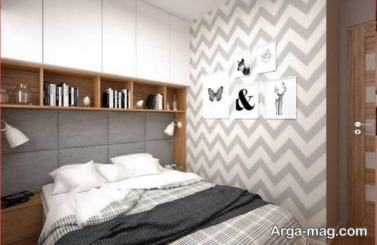 نمونه های شیک و لوکس دکوراسیون اتاق خواب کوچک