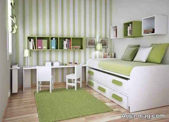 نمونه های بینظیر و نفیس طراحی اتاق خواب کوچک