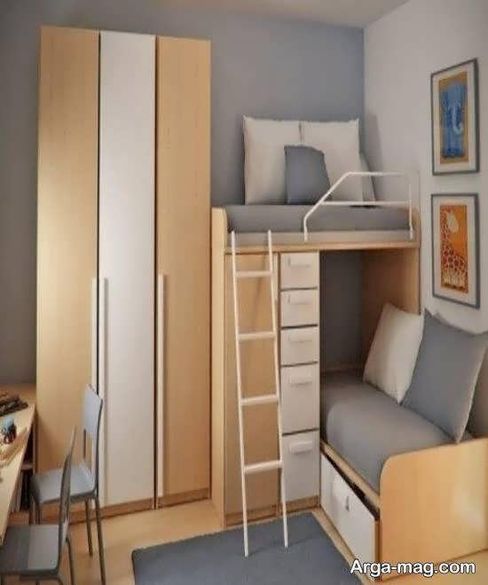 انواع دکوراسیون های اتاق خواب کوچک زیبا و شیک