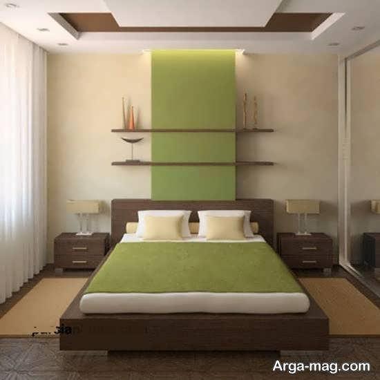 گالری زیبا و لوکس طراحی اتاق خواب کوچک