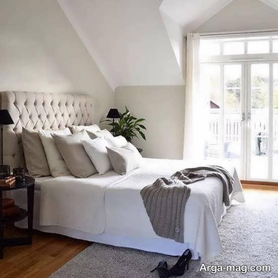 کلکسیون زیبا و جذاب طراحی اتاق خواب با ابعاد و متراژ کم