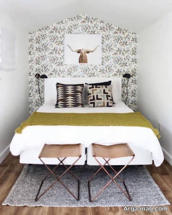 انواع نمونه های زیبا و جذاب طراحی اتاق خواب کوچک