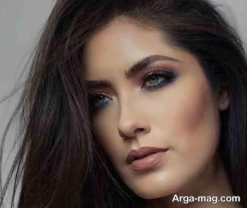 مدل میکاپ دخترانه زیبا