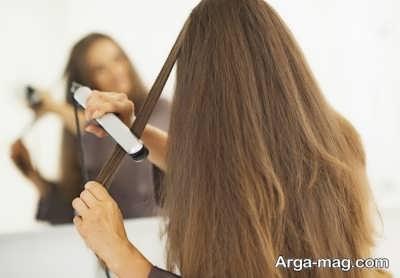 استفاده بیش از اندازه از لوازم الکتریکی برای حالت دادن به موها