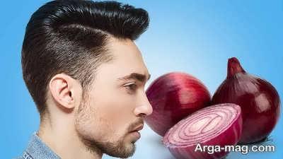 تقویت تارهای نازک مو توسط آب پیاز