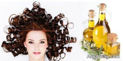 تقویت موهای نازک با روغن زیتون