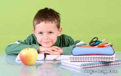 تکالیف مدرسه در خانه