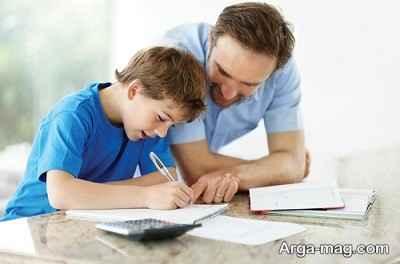 نوشتن تکالیف درسی