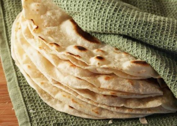 طرز تهیه نان ترتیلا