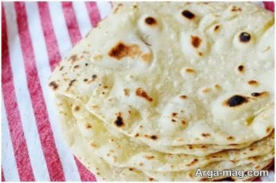دستور پخت نان ترتیلا