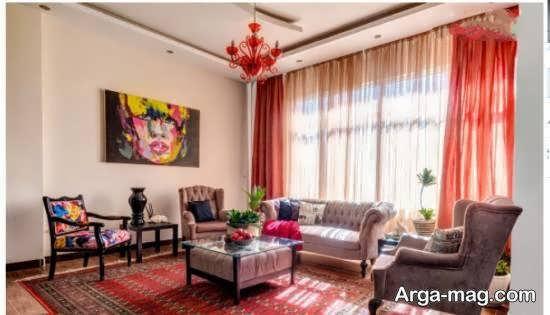 ایده های زیبا و متنوع دیزاین منزل به سبک و طرح سنتی