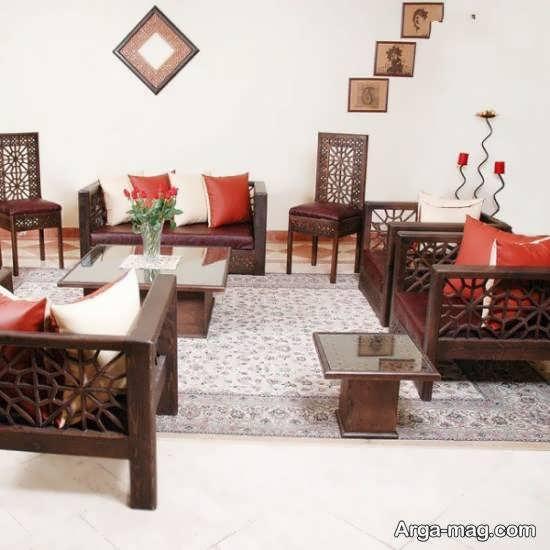 دکوراسیون منزل سنتی با استفاده از وسایل آنتیک و قدیمی زیبا