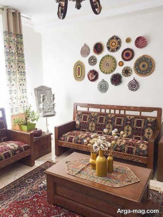 مجموعه دکوراسیون منزل سنتی زیبا و با شکوه برای علاقه مندان
