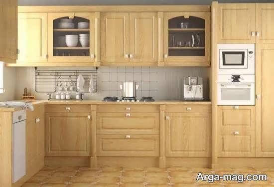ایده های متنوع و متفاوت دیزاین آشپزخانه چوبی