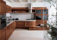 مجموعه زیبای دکوراسیون آشپزخانه چوبی